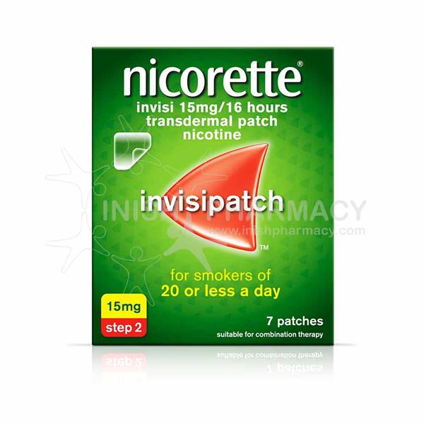 Nicorette Invisipatch Step 2 15mg 7 Pack