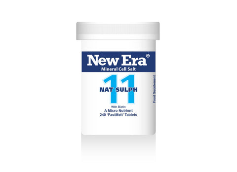 New Era No.11 Nat Sulph - 240 Tablets - dolanschemist.ie