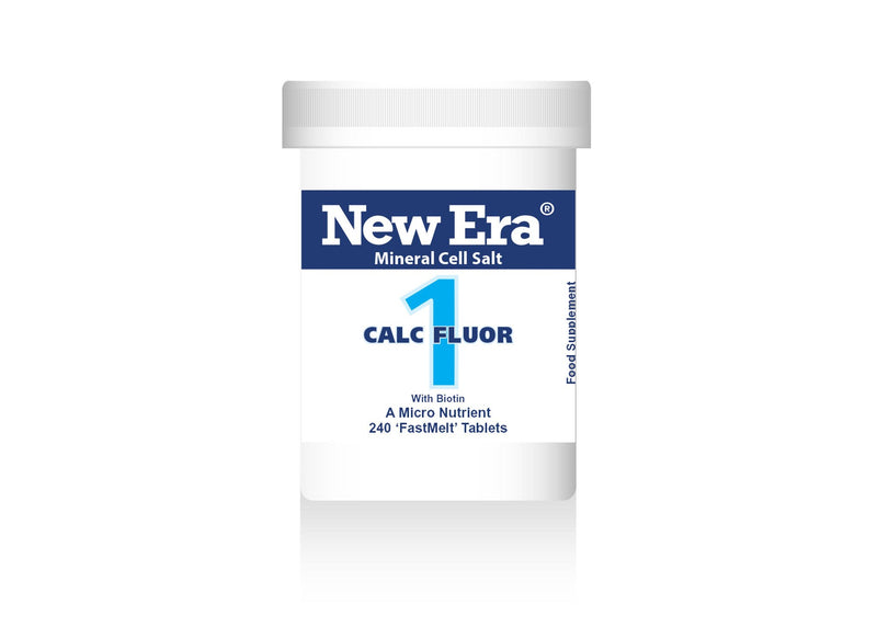 New Era No.1 Calc Flour - 240 Tablets