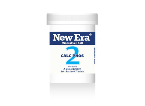 New Era No.2 Calc Phos - 240 Tablets - dolanschemist.ie