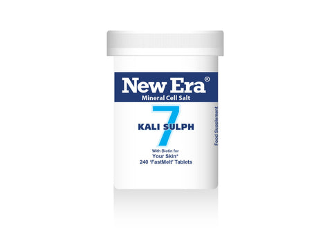 New Era No.7 Kali Sulph - 240 Tablets - dolanschemist.ie