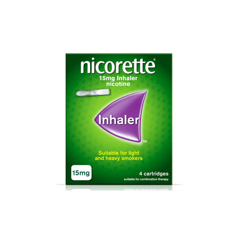 Nicorette Inhaler 15mg 20 Cartridges - dolanschemist.ie