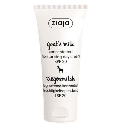 Ziaja Goat's Milk Concentrated Day Cream SPF20 50ML - dolanschemist.ie