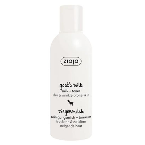 Ziaja Goat's Milk Cleansing Milk & Toner 200ml - dolanschemist.ie