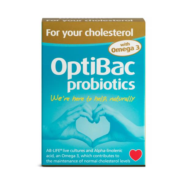 OptiBac Probiotics For Your Cholesterol