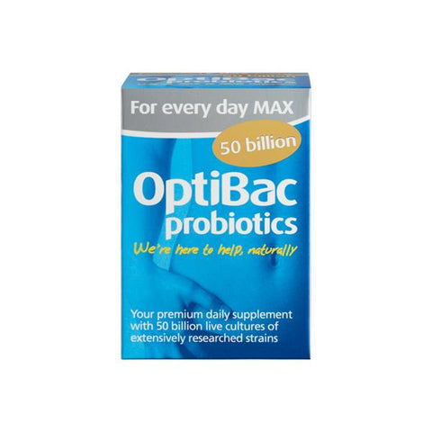 OptiBac Probiotics For Every Day MAX 30 Capsules - dolanschemist.ie