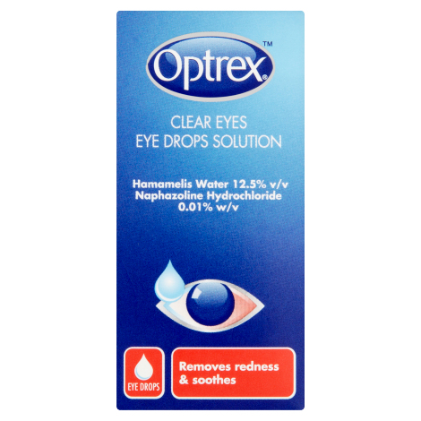 Optrex Clear Eyes Eye Drops 10ml - dolanschemist.ie