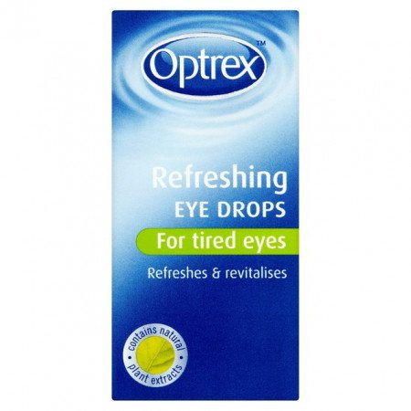 Optrex Refreshing Eye Drops For Tired Eyes 10ml - dolanschemist.ie