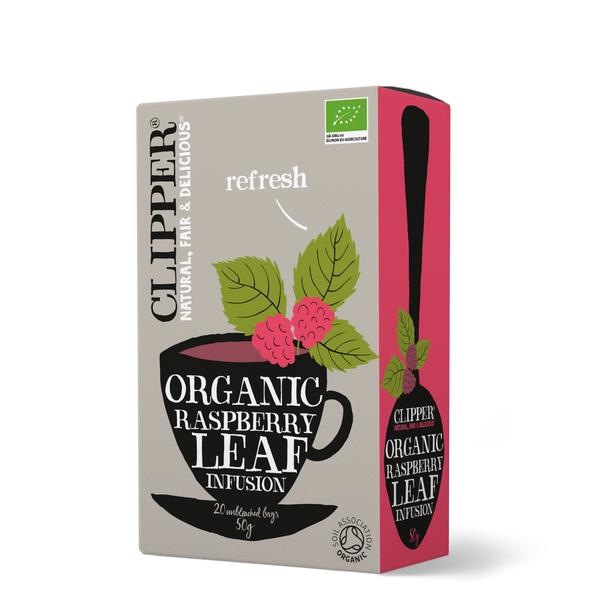 Clipper Organic Raspberry Leaf Infusion Tea