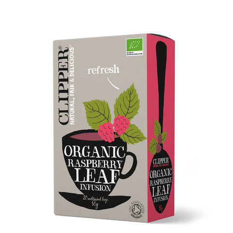 Clipper Organic Raspberry Leaf Infusion Tea - dolanschemist.ie