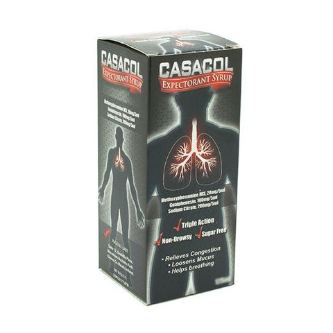 Casacol Expectorant Syrup - dolanschemist.ie