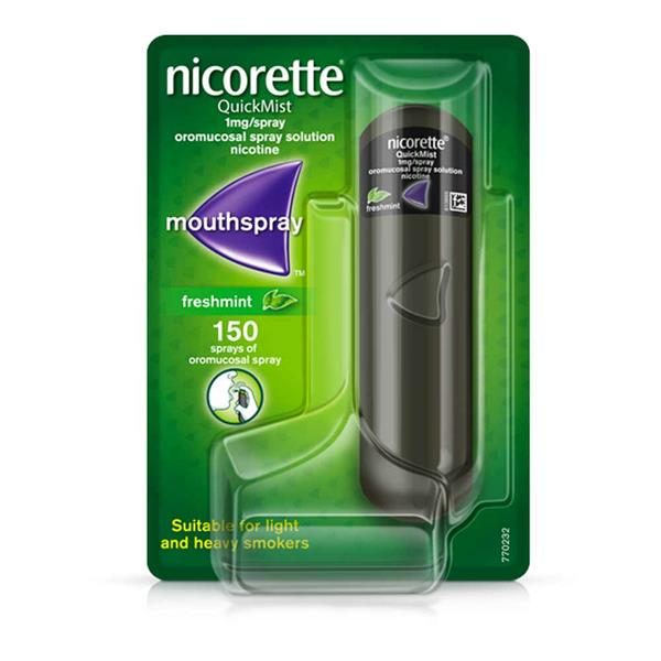 Nicorette QuickMist Freshmint 1mg Spray