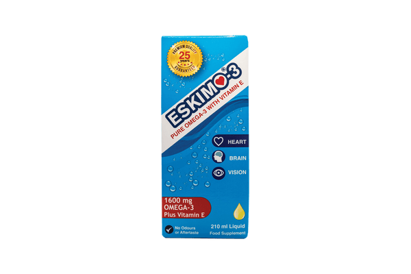 Eskimo-3 Pure Omega-3 with Vitamin E