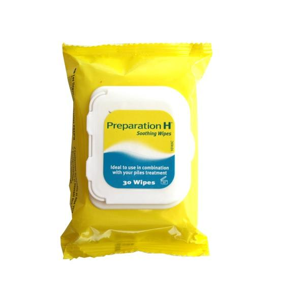 Preparation H Soothing Wipes 30 Pack