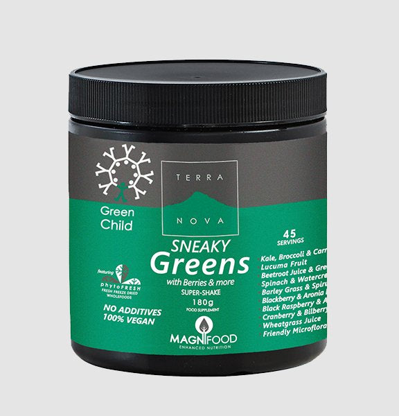 TERRA NOVA GREEN CHILD Sneaky Greens Super Shake 180g