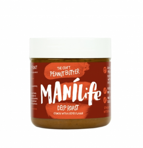 The Craft Peanut Butter Manilife Deep Roast Crunchy - dolanschemist.ie