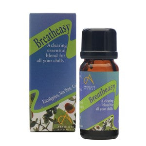 Absolute Aromas Breatheasy Aromatherapy Blend 10ml