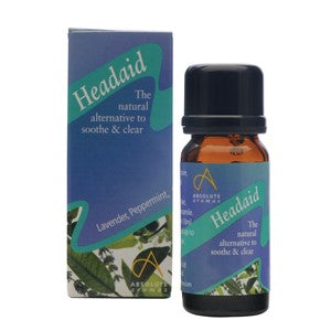 Absolute Aromas Headaid Aromatherapy Blend 10ml
