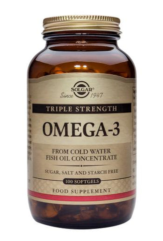 Solgar Triple Strength Omega-3 - dolanschemist.ie