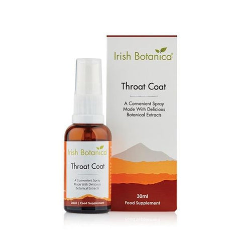Irish Botanica Throat Coat 30ml - dolanschemist.ie