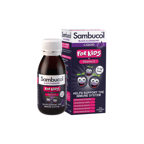 Sambucol for Kids Black Elderberry 230ml Liquid - dolanschemist.ie