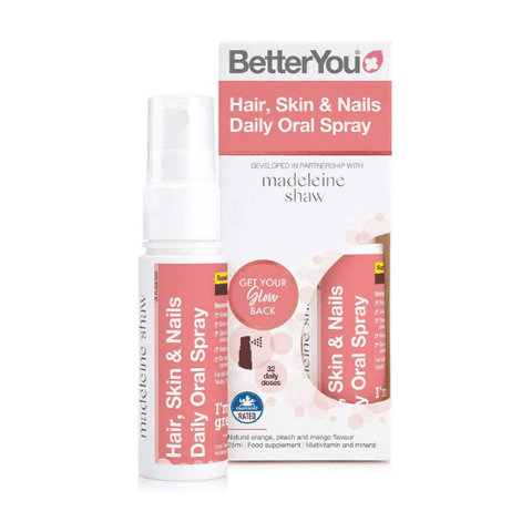BetterYou Hair, Skin & Nails Daily Oral Spray