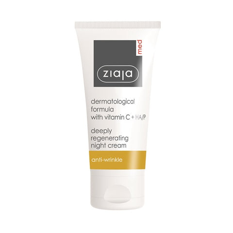 Ziaja Deeply Regenerating Night Cream with Vitamin C 50ml - dolanschemist.ie