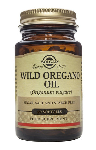 Solgar Wild Oregano Oil 60 Softgels - dolanschemist.ie