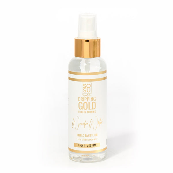 SOSU Wonder Water Facial Tan Mist Light/Med 125ml