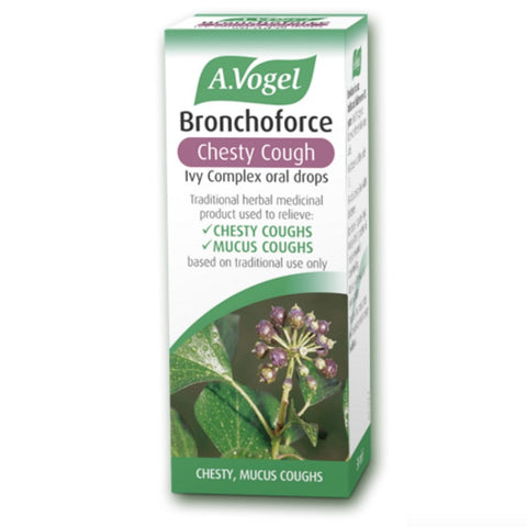 A.Vogel Bronchoforce Chesty Cough Oral Drops - dolanschemist.ie