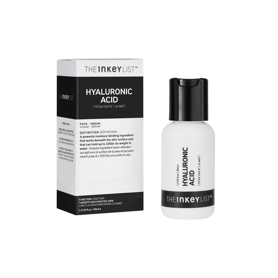 THE INKEY LIST HYALURONIC ACID FACE SERUM 30ML