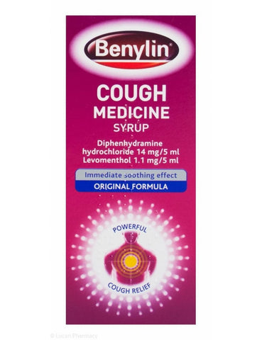Benylin Cough Medicine Syrup 125ml Original - dolanschemist.ie