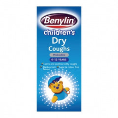 Benylin Children's Dry Coughs 125ml - dolanschemist.ie