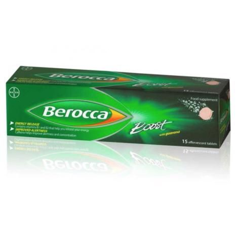 Berocca Boost with Guarana Tablets