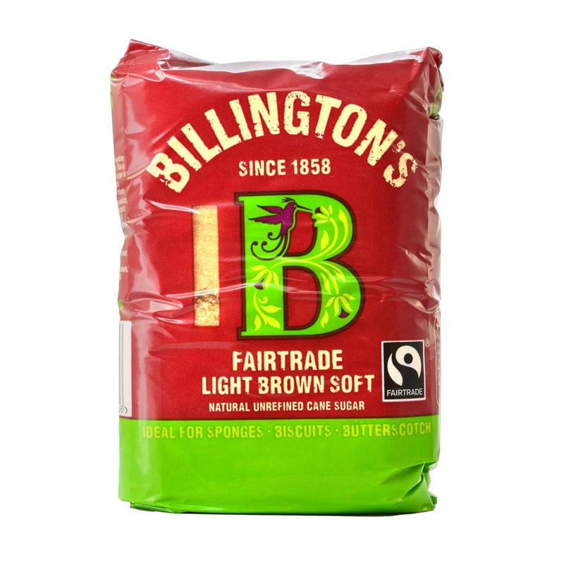 Billington's Fairtrade Light Brown Soft Sugar - dolanschemist.ie