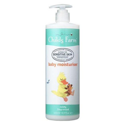 Childs Farm Baby Moisturiser -Mildly Fragranced 250ml - dolanschemist.ie