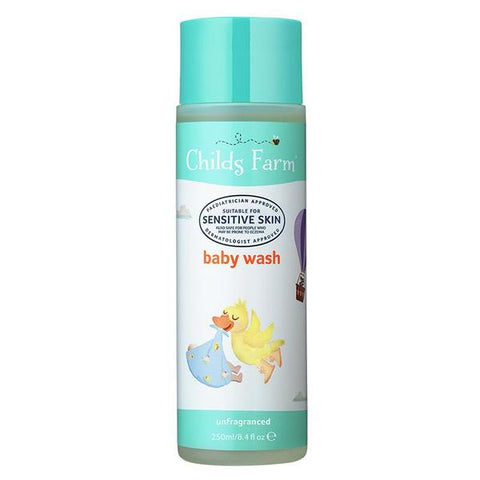 Childs Farm Baby Wash Unfragranced 250ml - dolanschemist.ie