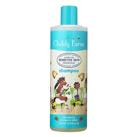 Childs Farm Shampoo- Strawberry & Organic Mint 250ml - dolanschemist.ie