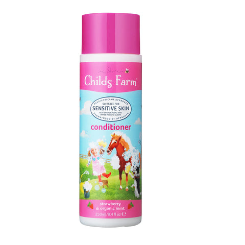 Childs Farm Conditioner Strawberry & Organic Mint 250ml - dolanschemist.ie