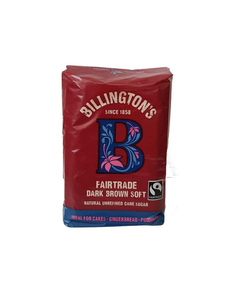 Billington's Fairtrade Dark Brown Soft Sugar