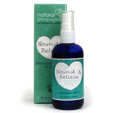 Nourish & Relieve Massage & Stretch Mark Oil 100ml