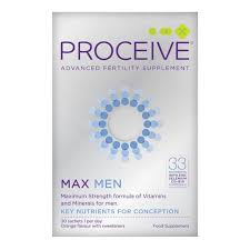 Proceive Advanced Fertility Support Max Men 30 Pack