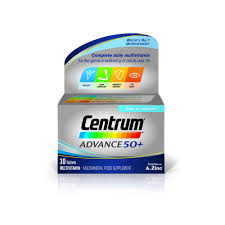Centrum Advance 50+ Multivitamin 30 Pack - dolanschemist.ie