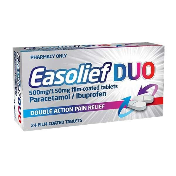 Easolief DUO Tablets 24 Pack