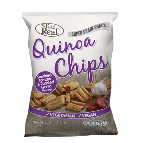 Eat Real Quinoa Chips Sundried Tomato & Roasted Garlic Flavour - dolanschemist.ie
