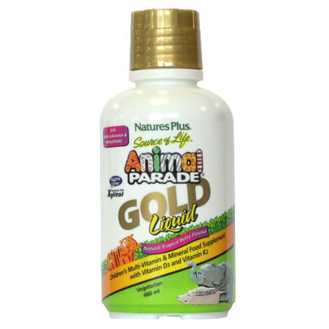 Natures Plus Animal Parade Gold Liquid 480ml - dolanschemist.ie