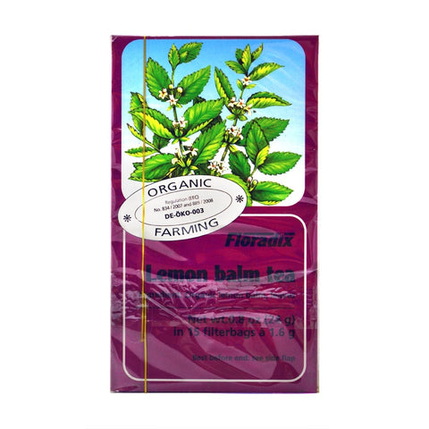 Floradix Lemon Balm Tea - dolanschemist.ie