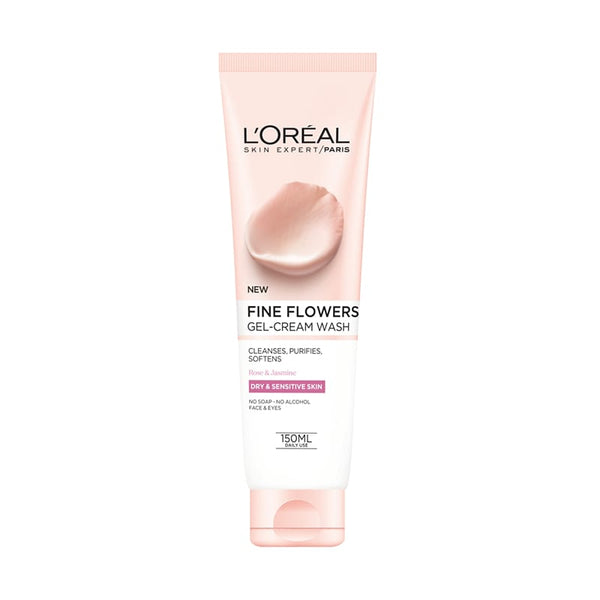 Loreal Fine Flowers Gel-Cream Wash 150ml - dolanschemist.ie