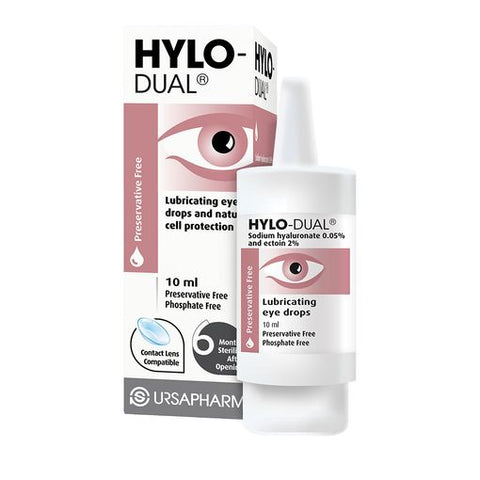 Hylo-Dual Preservative Free Eye Drops 7.5ml - dolanschemist.ie