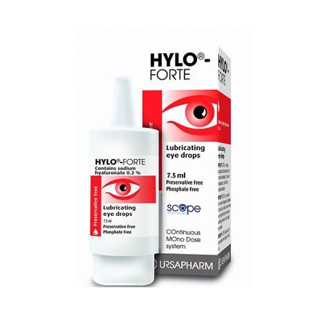 Hylo-Forte Preservative Free Eye Drops 7.5ml